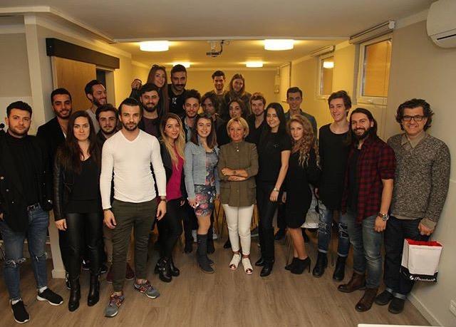 Mezuniyet gününde bizimle birlikte olan Arzu Eğmir e paylaşımları ve keyifli sohbeti için sonsuz teşekkürler
