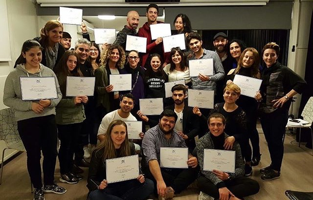 Belçika'dan gelen Actor Studıo öğrencileri Tümay Özokur Atölyede!