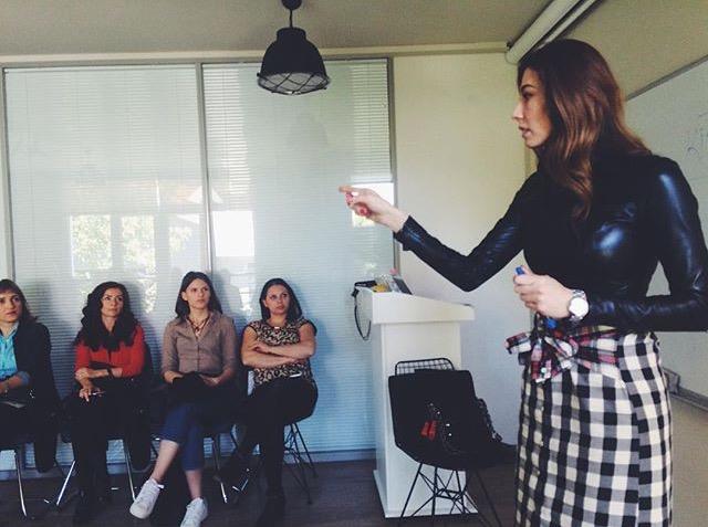 """Şenay Akay ile """"Kadınım Ben"""" seminerinden"""
