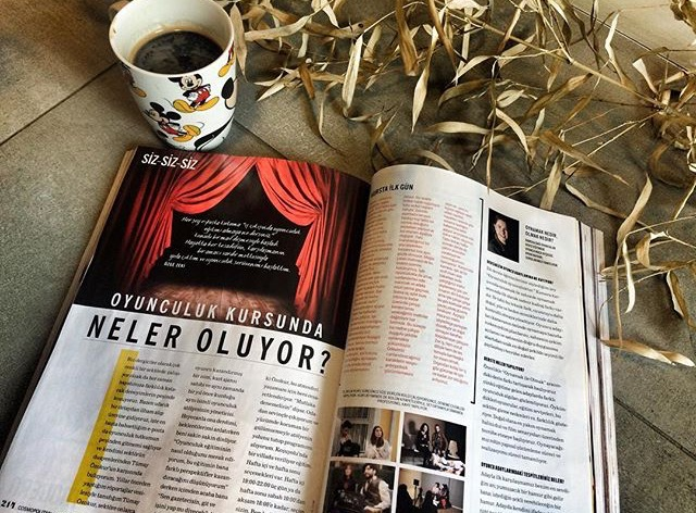 Tümay Özokur Oyunculuk ve Yaşam Atölyesi, Cosmopolitan Mayıs 2016 sayısında!