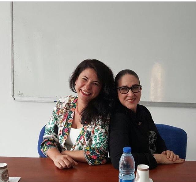 Tümay Özokur ve Atölye eğitmenlerimizden Ayşegül Baydar, Gazi Üniversitesi'nde öğrencilerle buluştu..