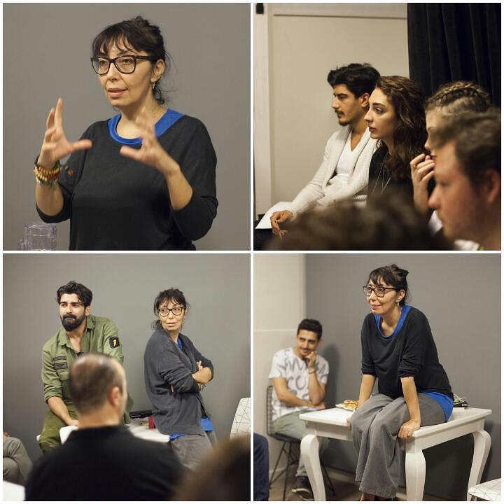 '' Audition verirken özgüvenli olun, rahat olun'' Bugün ''Yönetmen Hülya Bilban'' Atölyemizin konuğu oldu.. Sektöre dair edinmiş olduğu tüm deneyimlerini katılımcılarımızla paylaştı. Konuğumuza ve katılımcılarımıza sonsuz teşekkürler.. Bir sonraki seminer