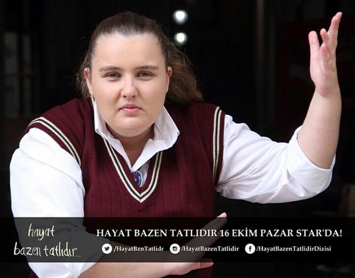 Atölye mezunlarımızdan İlayda Çengel'in rol aldığı yeni dizi Hayat Bazen Tatlıdır, 16 Ekim 2016 Pazar akşamı saat 20:00'da Star TV'de başlıyor!