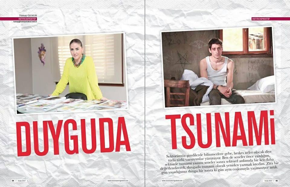 Tümay Özokur, '' Duyguda Tsunami ''